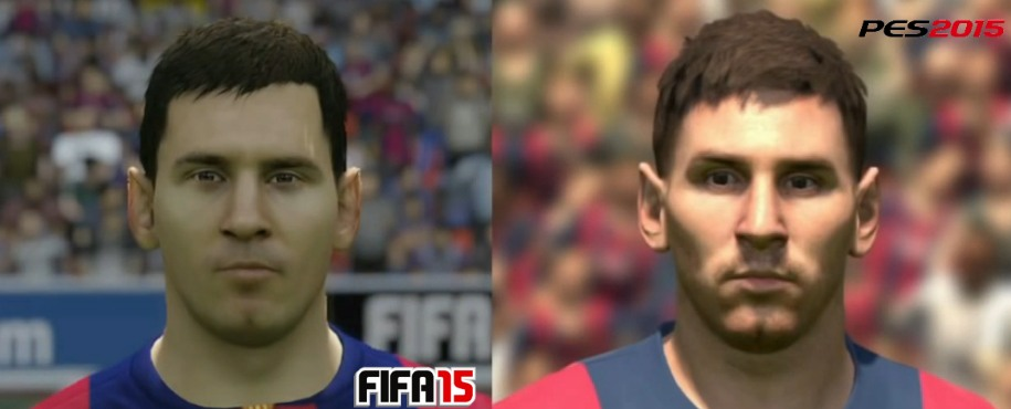 Fifa PES 2015 Messi