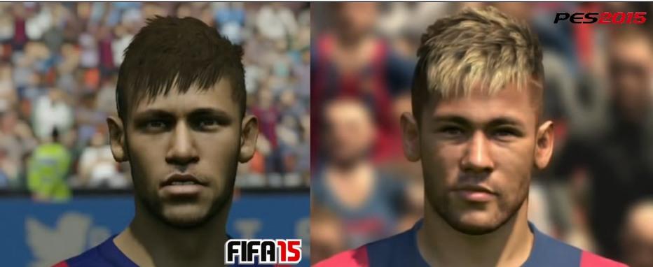 Fifa PES 2015 Neymar