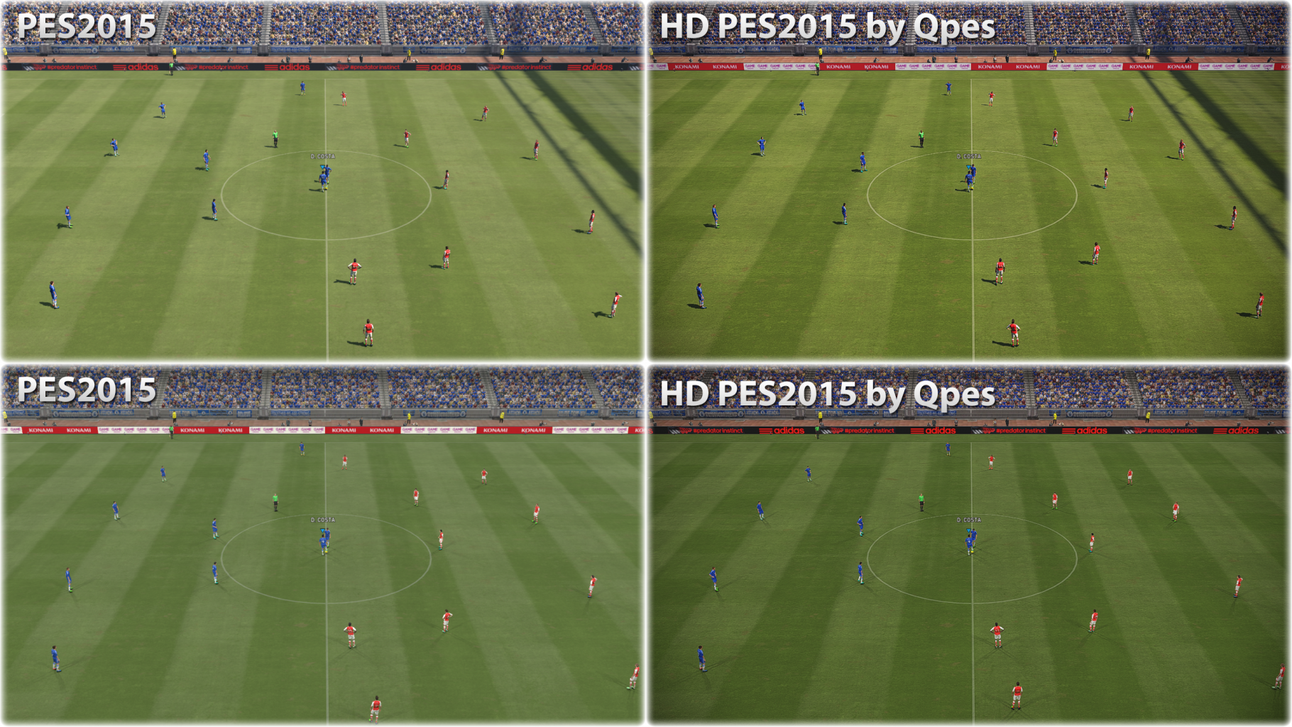 PES 2015 HD by QPES - Pro Evolution Soccer 2015 at ModdingWay
