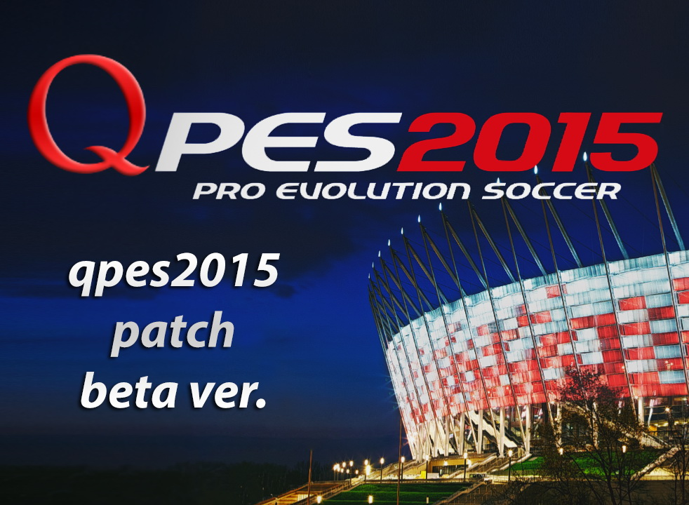 Pes 2015 patch qpes 2015 beta