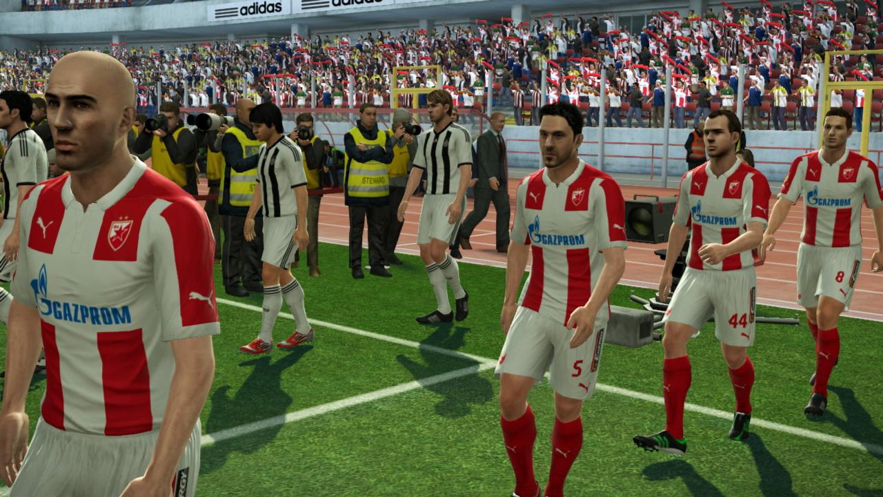 Partizan Zvezda Start Game