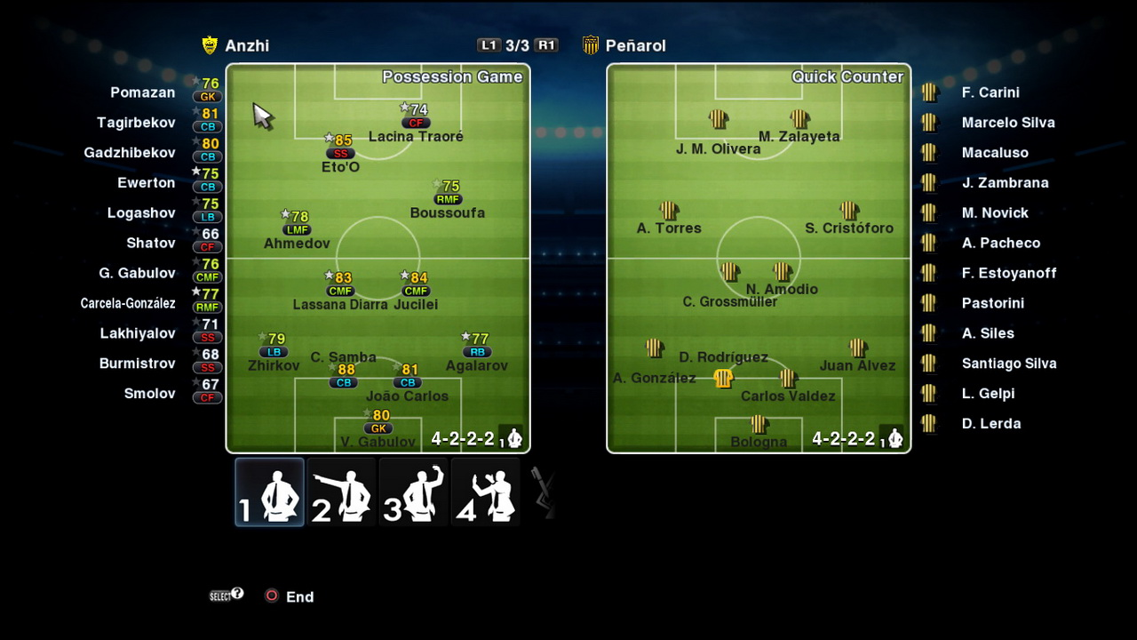 Pes 2013 Formations