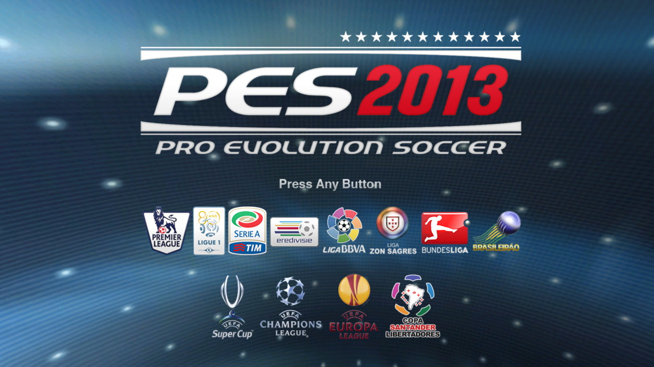 This is starting game in PES 2013 Patch QPES v7